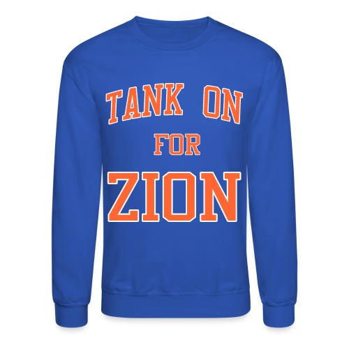 Tank On For Zion - Crewneck Sweatshirt