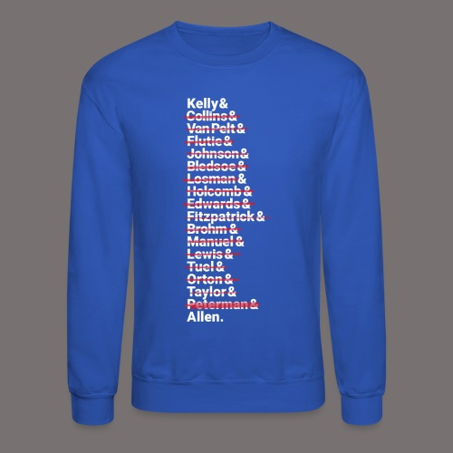 Buffalo Franchise Quarterbacks - Unisex Crewneck Sweatshirt