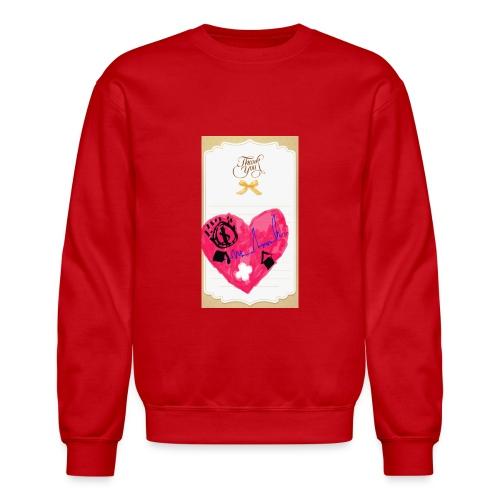 Heart of Economy 1 - Unisex Crewneck Sweatshirt