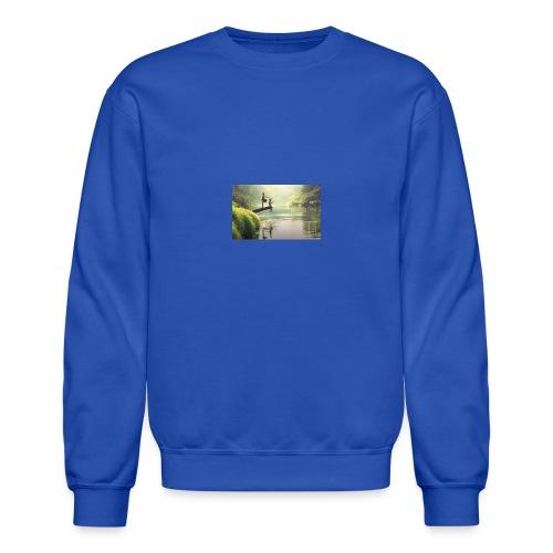 fishing - Crewneck Sweatshirt
