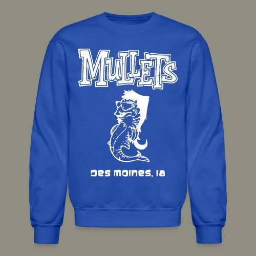 mulletmain white - Crewneck Sweatshirt