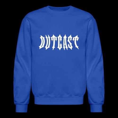 outcast logo - Unisex Crewneck Sweatshirt
