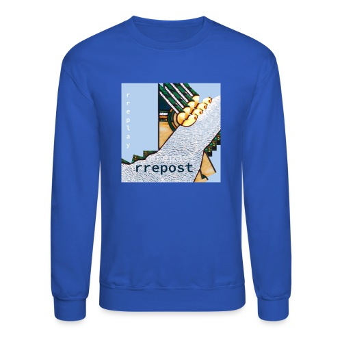 rrepost - rreplay - Unisex Crewneck Sweatshirt