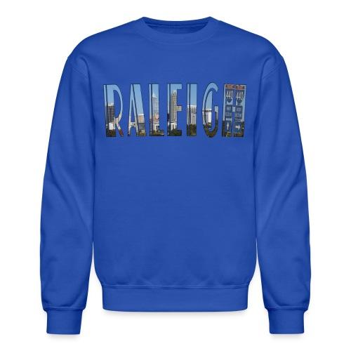 Raleigh Skyline Fall - Crewneck Sweatshirt
