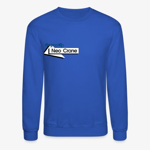 Designed By Neo Crane - Crewneck Sweatshirt
