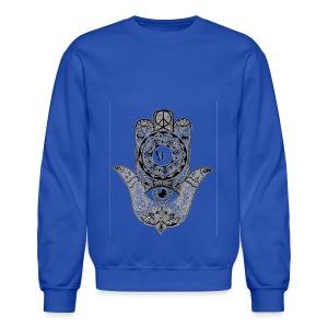 Ezina Hamsa Design - Crewneck Sweatshirt