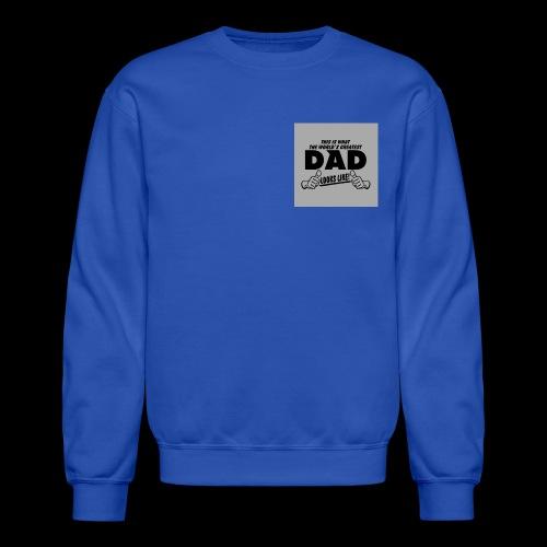 special fathers day mens sweatshirt - Crewneck Sweatshirt