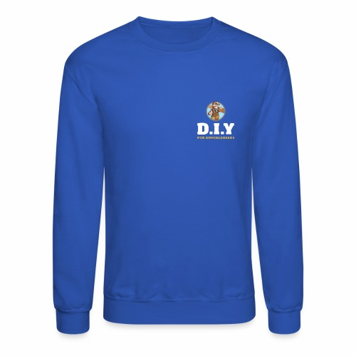 DIY For Knuckleheads Logo. - Crewneck Sweatshirt
