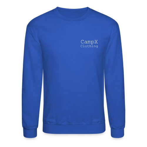 CampX Clothing White Logo - Crewneck Sweatshirt