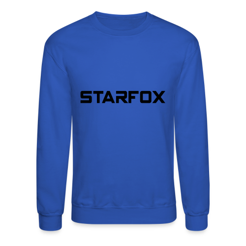 STARFOX Text - Crewneck Sweatshirt