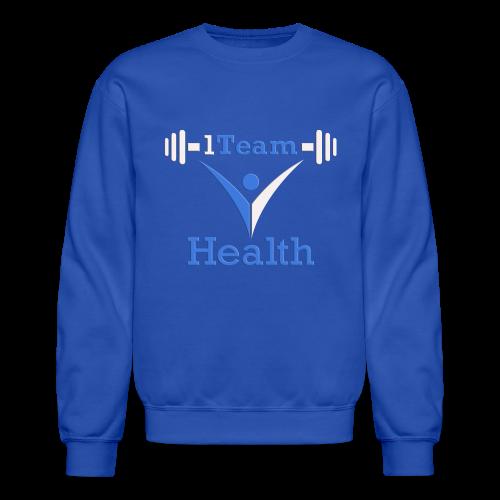 1TH - Blue and White - Crewneck Sweatshirt