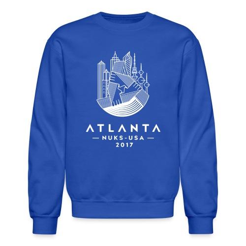 white Atlanta Conference logo - Crewneck Sweatshirt