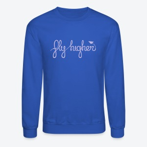 Fly Higher - Light Purple - Crewneck Sweatshirt