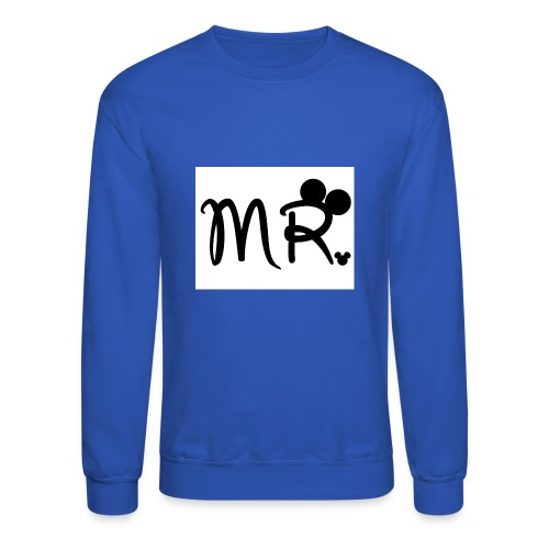 a1cb4a3601e1061d75bb369244d965b5 mr gallery mr mrs - Crewneck Sweatshirt