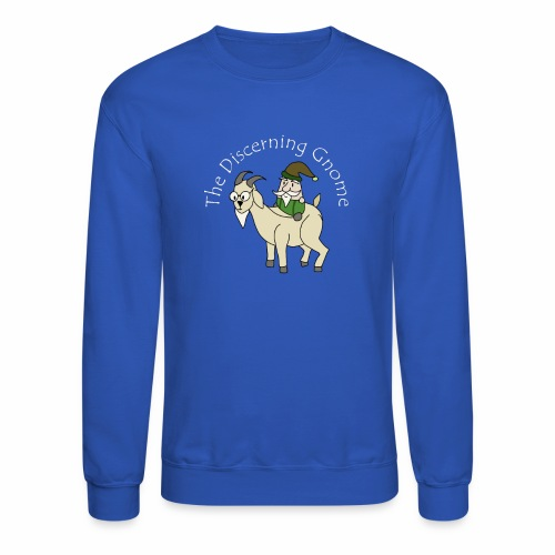 goodgnomewhitetext - Crewneck Sweatshirt