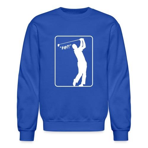Golf Shot #@?! - Crewneck Sweatshirt