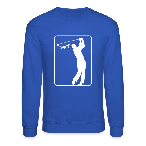 Golf Shot #@?! - Crewneck Sweatshirt