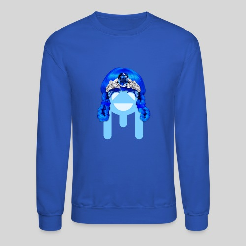ALIENS WITH WIGS - #TeamMu - Crewneck Sweatshirt
