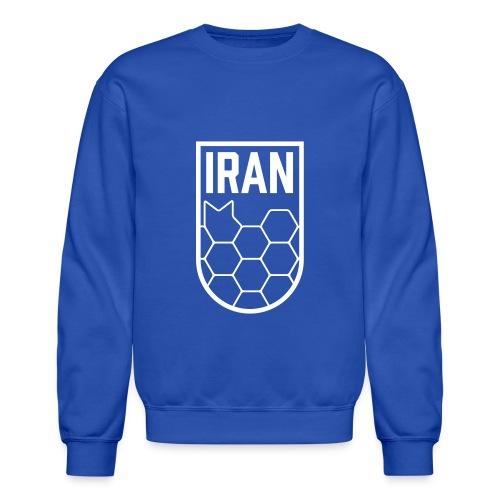 Geometric Iran Soccer Badge - Crewneck Sweatshirt