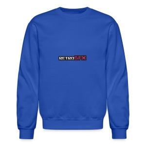 RetroSFX logo - Crewneck Sweatshirt