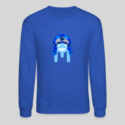 ALIENS WITH WIGS - #TeamMu - Crewneck Sweatshirt