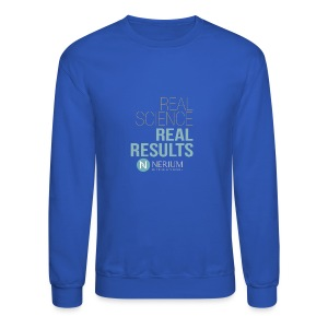 Real Science Real Results Nerium - Crewneck Sweatshirt