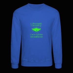 Mid-South Wrestling News Neon/Lime Green - Crewneck Sweatshirt