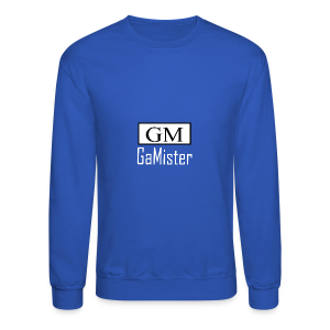 gamister_shirt_design_1_back - Crewneck Sweatshirt