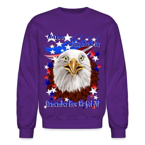 Grand Ol' Eagle-Independence Day - Crewneck Sweatshirt