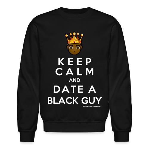 keep calm logo - Crewneck Sweatshirt