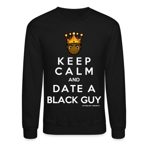keep calm logo - Unisex Crewneck Sweatshirt