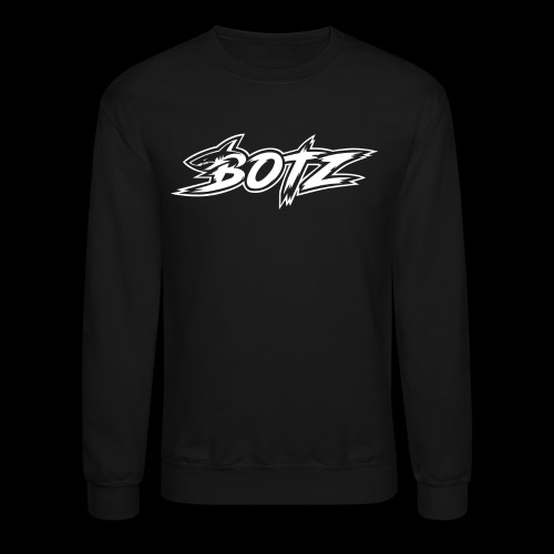 BOTZ White Logo - Crewneck Sweatshirt