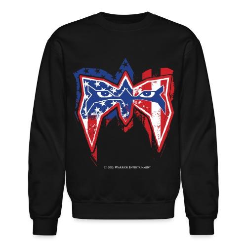 Warrior USA - Unisex Crewneck Sweatshirt