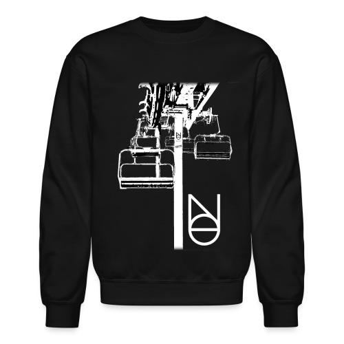 Chairlift Design - Unisex Crewneck Sweatshirt