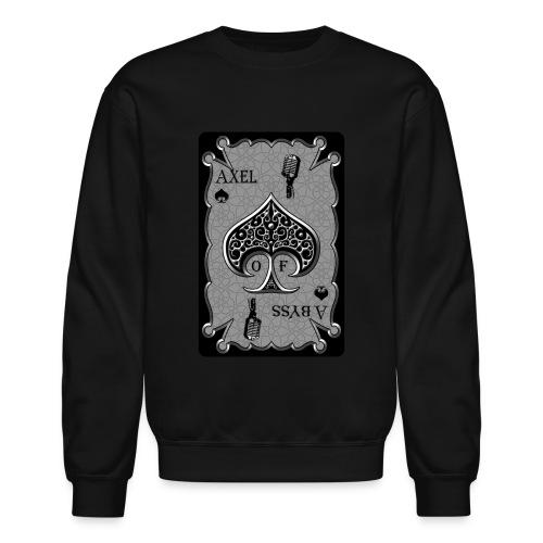 Axelofabyss Spade Card - Crewneck Sweatshirt