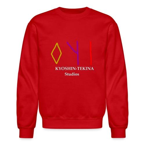 Kyoshin-Tekina Studios logo (white text) - Crewneck Sweatshirt