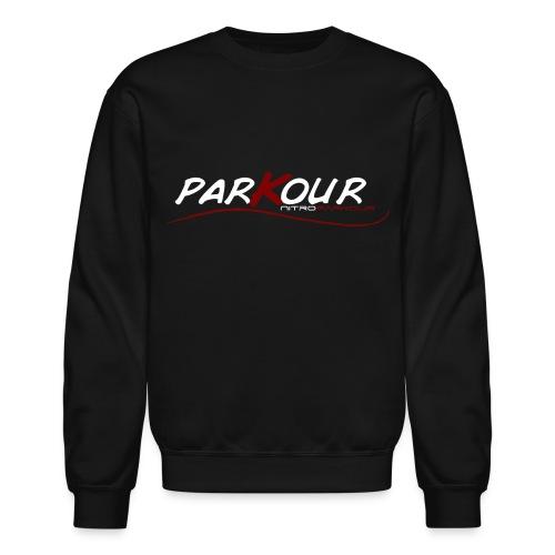 parkourwave gif - Unisex Crewneck Sweatshirt
