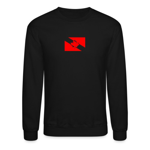 Clear White Dive Canada v. Small - Crewneck Sweatshirt