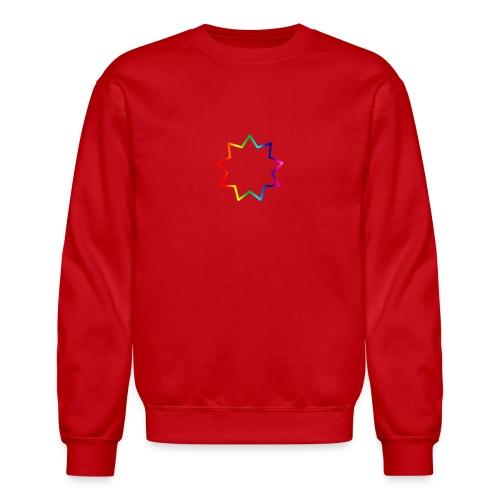 Baha´i rainbow - Crewneck Sweatshirt