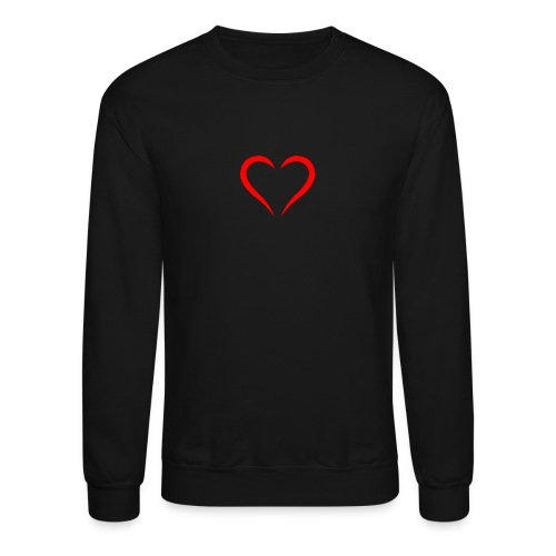open heart - Crewneck Sweatshirt