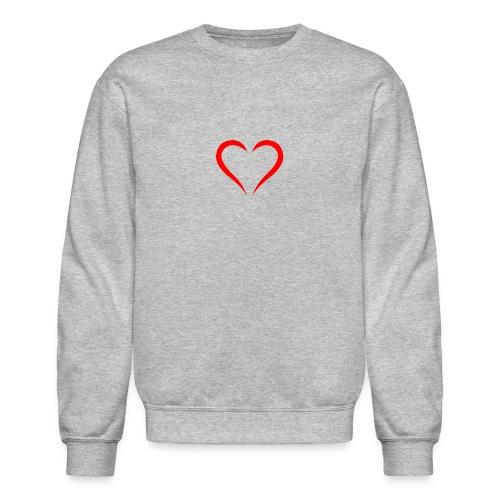 open heart - Crewneck Sweatshirt