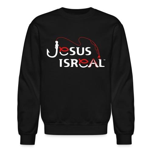 Jesus Isreal White Background - Crewneck Sweatshirt