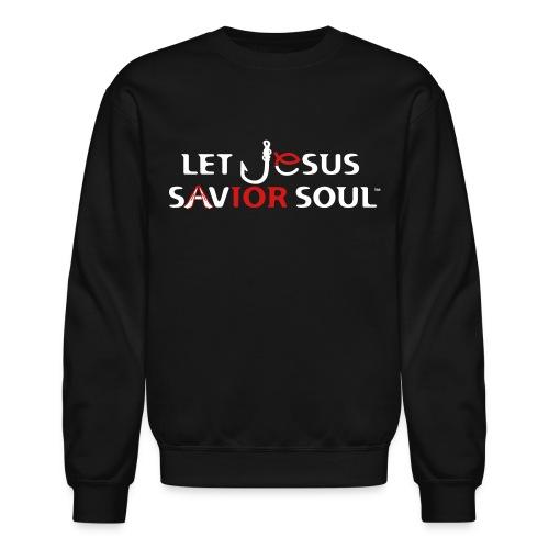 Savior Soul White Background EPS - Crewneck Sweatshirt