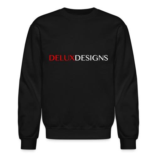 Delux Designs (white) - Unisex Crewneck Sweatshirt