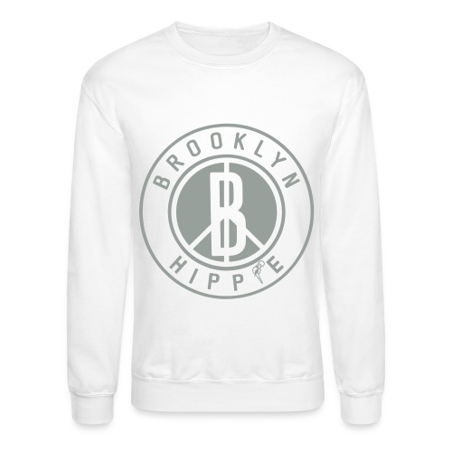Brooklyn Hippie - Unisex Crewneck Sweatshirt