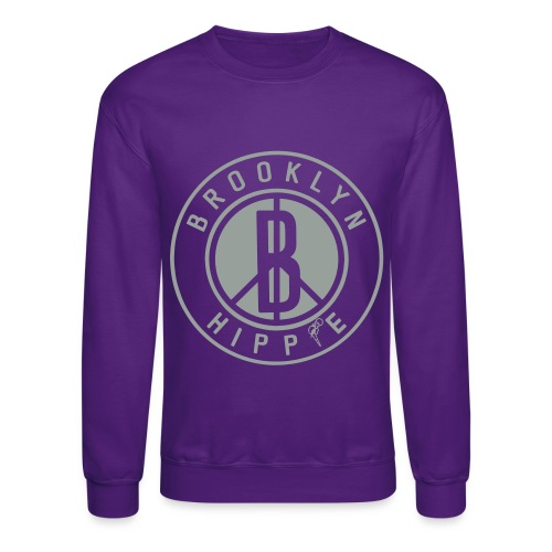 Brooklyn Hippie - Unisex Crewneck Sweatshirt