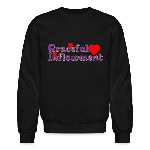 Graceful Inflowment - Unisex Crewneck Sweatshirt