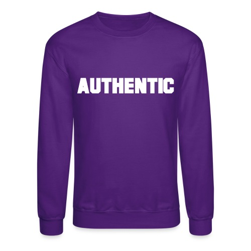 authentic - Unisex Crewneck Sweatshirt