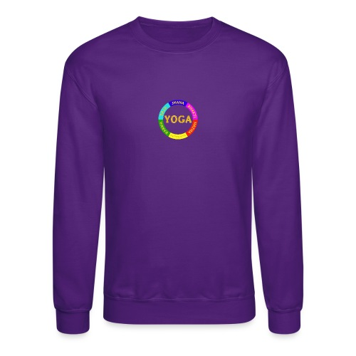 6 ways of Yoga - Crewneck Sweatshirt