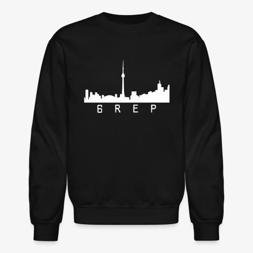 6rep Six White - Crewneck Sweatshirt
